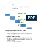 Modelo Secuencial Lineal
