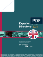 2016 Experience UK Directory