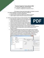 Laboratorio I - Instalacion y Configuracion de Laboratorio Virtual