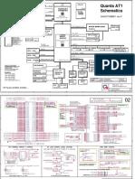Hp.pavilion.dv6500 DV9000.Quanta.at1.DA0AT1MB8F1.Rev.F.schematics