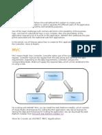 MVC Introduction.doc