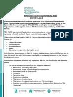 IPSF TDC-EMRO Hosting Call