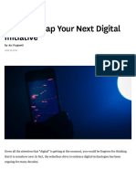 A Tool to Map Your Next Digital Initiative