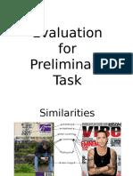 Evaluation for Magazine