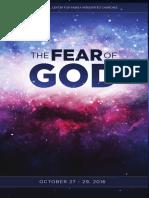 Fear of God Syllabus 2016