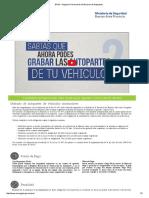 RPVA - Registro Provincial de Verificacion de Autopartes