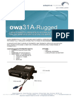 Owa31A Rugged Datasheet