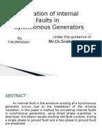 Simulation of Internal Faults