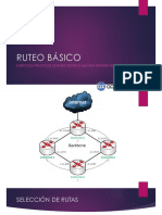 108wa Ruteo Estatico Ejercicios. Mikrotik Routeros Academy Xperts Lr