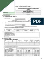 Informe de Liquidacion Chichera Puquio