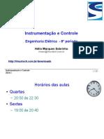 Instrumentação e Controle