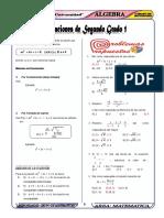 310439149 Ecuaciones de Segundo Grado