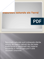 Resursele Naturale Ale Terrei (1)