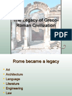 6.5 the Legacy of Greco-Roman Civilization