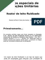 Reator de Leito Fluidizado