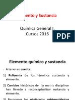 Elemento y Sustancia Ppt Videoconferencia 1