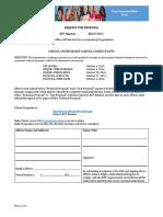 ODE Charter RFP