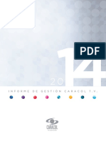 Informe Caracol 2014