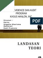Audit Evidence Dan Audit Program_hanlon,Inc.