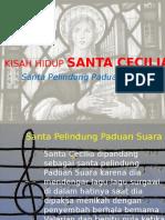 Kisah Hidup Santa Cecilia