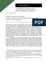 La Emancipación Hispanoamericana y Los Bicentenarios - Un Primer Repertorio Bibliográfico