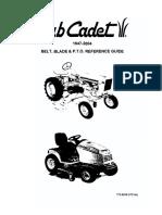 Belt-blade & PTO Ref Guide 1947-2004