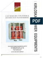 ABB Cast Resin Dry Type Transformer CAT | Transformer | Inductor