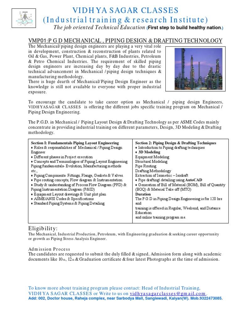 Prospectus Vidhyasagar Classes  | Technical Drawing | Drawing