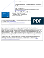 A Bi_Directional Gas Thrust Bearing