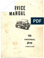Manual para vehiculos Jeep