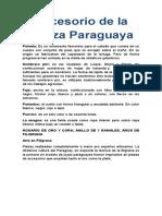 Accesorio de La Danza Paraguaya