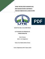 Angamarca Luis Didáctica de Cultura Física Tarea 1
