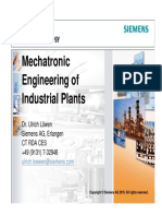 06 - Mechatronic Engineering of Industrial Plants