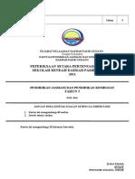 Cover Soalan Pksr Pjpk Tahun 5 2011