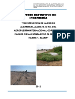Informe Final Red Desague Tacna