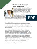 3- Biografia de Gabriel Garcia Marquez