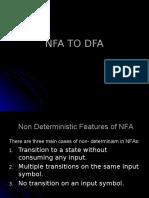 NFA to DFA