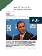 16.10.16 Suma RMV Docena de Reuniones Con Panistas en Diversos Estados