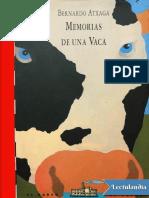 Memorias de Una Vaca - Bernardo Atxaga