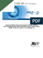 3GPP TS 25.101
