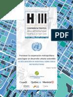 Declaración de Montreal Sobre Áreas Metropolitanas