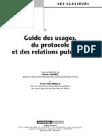 24760208 Guide Des Usages Du Protocole Et Des Relations Publiques
