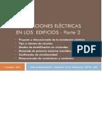 Instalaciones Eléctricas  2014 Parte2