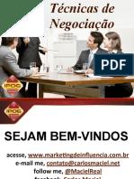 Técnicas de Negociação - Prof. Carlos Maciel.pdf