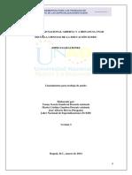 Lineamientos Trabajos de Grado Especializaciones 20142