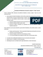 Admitere UMF 2016-2017 - Colegii