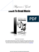 Learning To Read Music Pdf