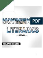 Movimientos y autores argentinos - Literatura