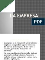 Clases de Administración I-la Empresa 2016