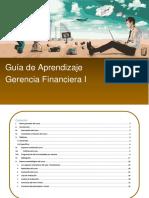 FIN_Guía de Aprendizaje Gerencia Financiera I Rev Sandra 18 de Mayo de 2016